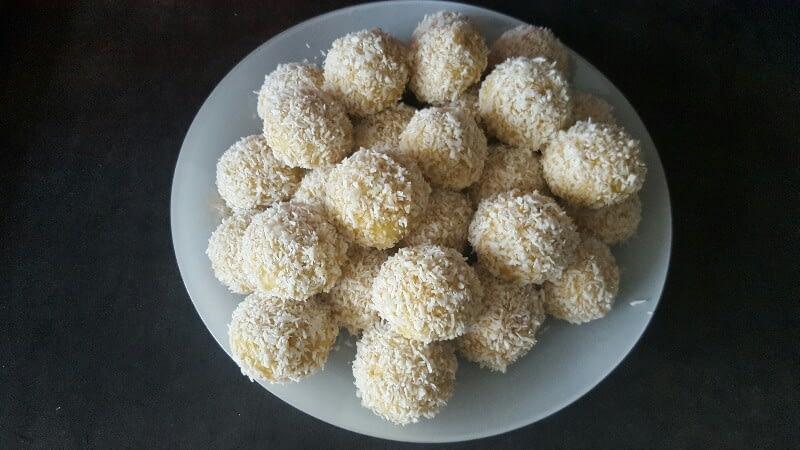 Recette de boules de coco bio