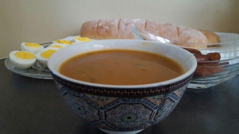 Harira bio aux légumes et sans gluten