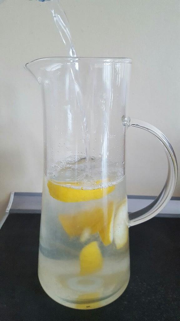Recette citronnade ajoutez l'eau