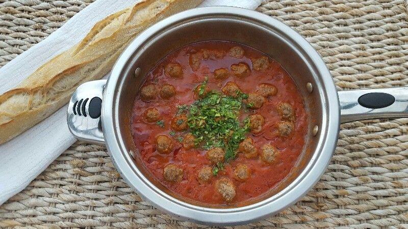 Tajine kefta bio, le tajine marocain aux boulettes de viande