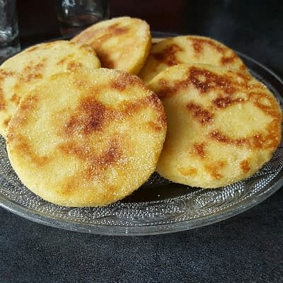 Recette harcha bio galette de semoule marocaine aperçu