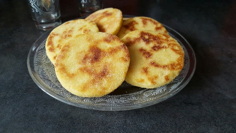 Harcha bio – galette marocaine à la semoule