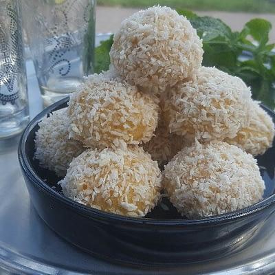 Boules de coco bio