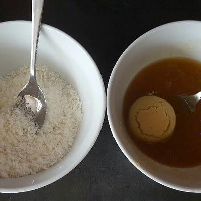 Recette boules de coco bio enrobez les gâteaux de confiture
