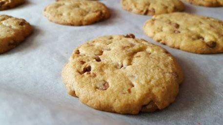 Cookies aux pépites de chocolat bio