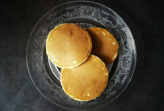 Véritables pancakes américains bio