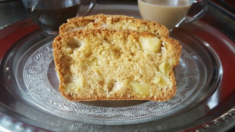 Cake aux pommes bio moelleux et inratable