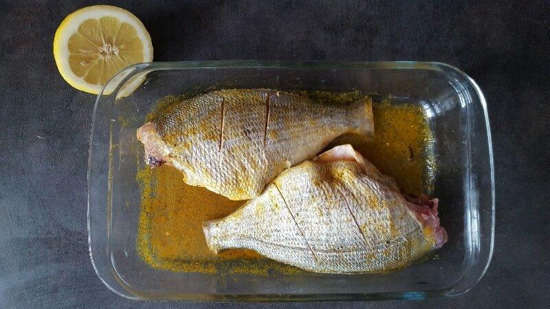 Recette de dorade grise marinée cuite à la vapeur