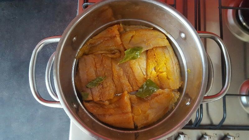 Recette lieu noir sauce citronnée cuisson vapeur