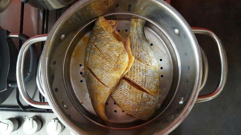 Recette dorade grise marinée cuite à la vapeur