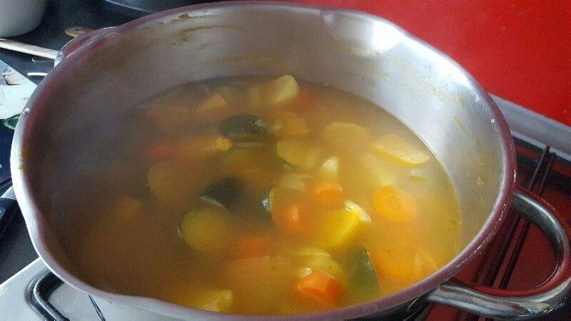 Recette de soupe printanière aux lentilles