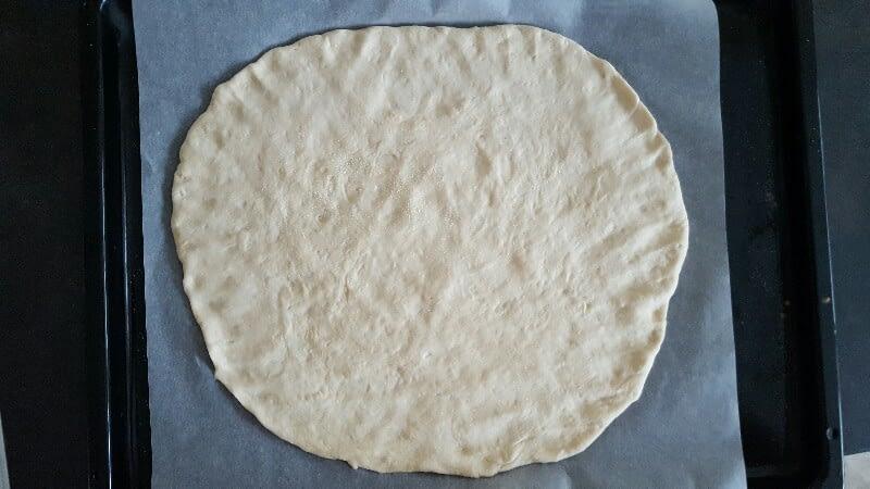 Pâte à pizza bio (recette de base)
