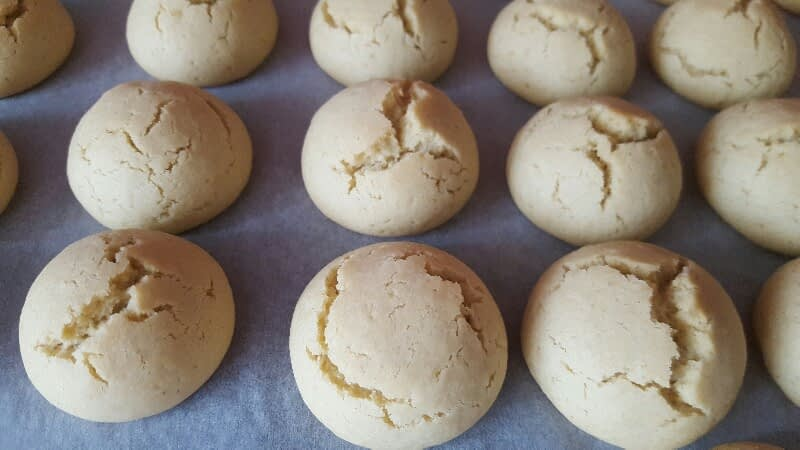 Recette des boules de coco bio après cuisson