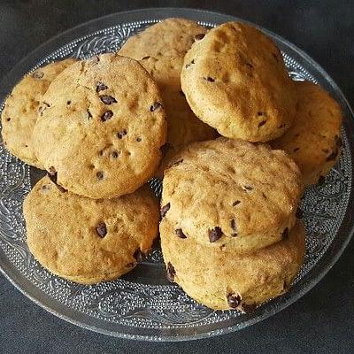 Recette scones anglais bio aux pépites de chocolat aperçu